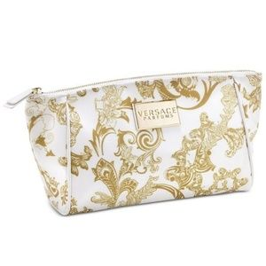 Versace Parfums Cosmetic Bag Clutch Makeup Travel
